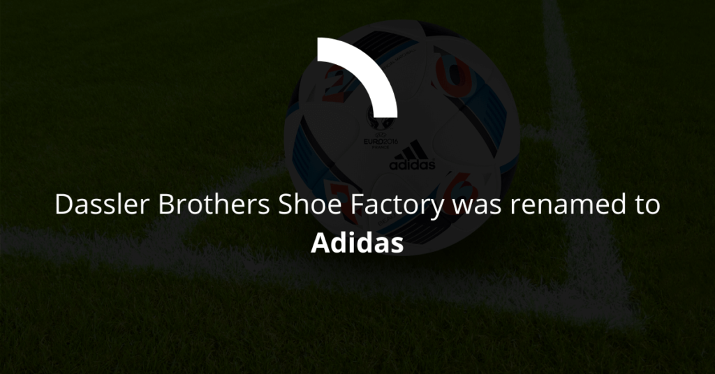 How Adidas was named