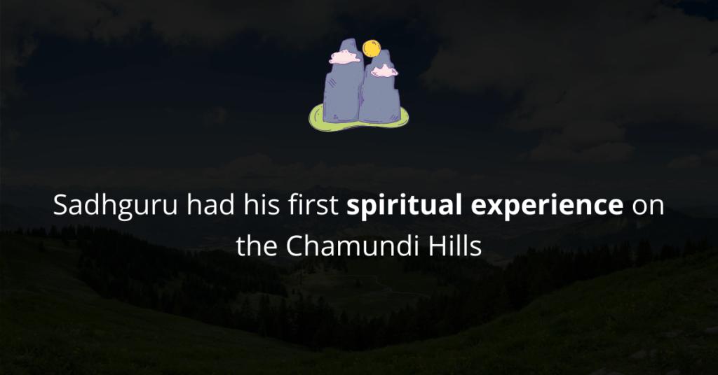 Sadhguru's first spiritual experience