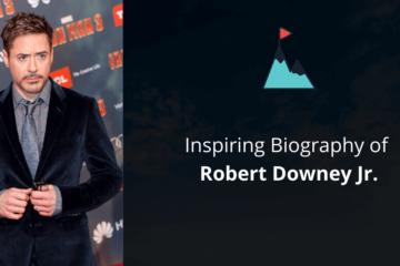 Biography of Robert Downey Jr