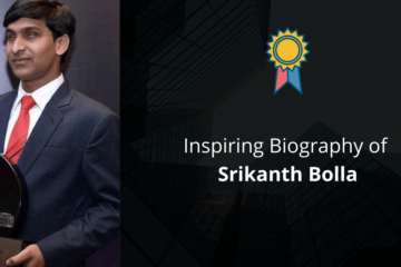 Biography of Srikanth Bolla