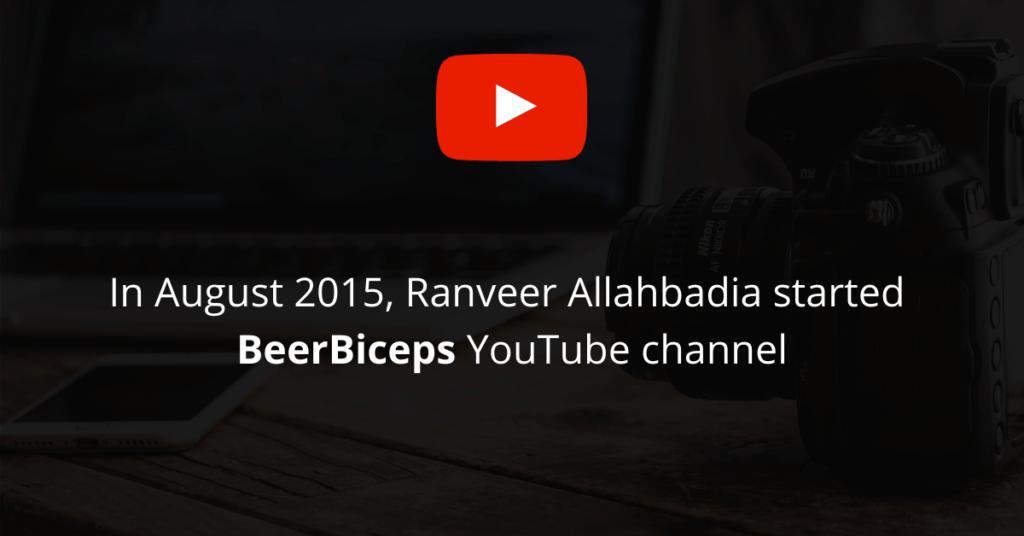 Starting BeerBiceps