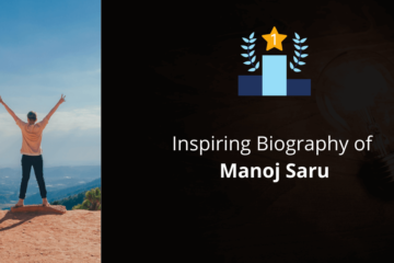 Biography of Manoj Saru
