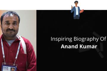 Biography Of Anand Kumar