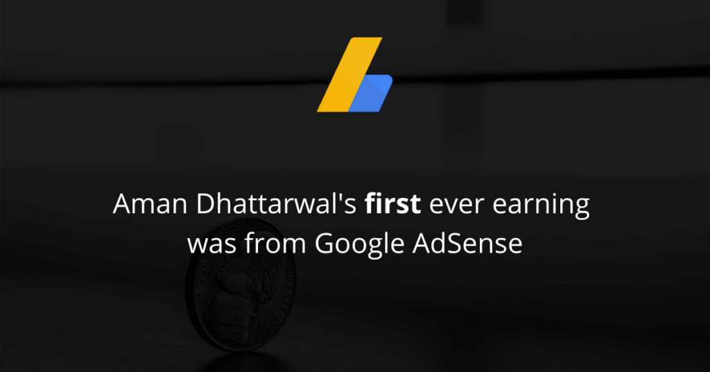 First ever earning of Aman Dhattarwal