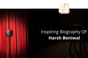 Biography Of Harsh Beniwal