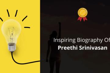 Biography Of Preethi Srinivasan