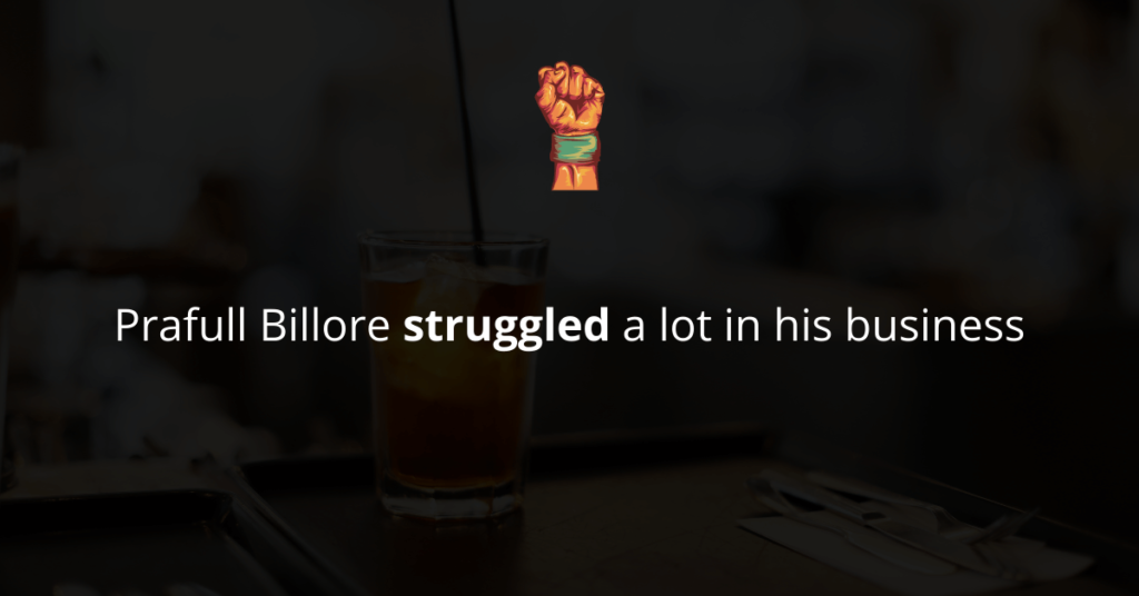 Prafull Billore struggled a lot